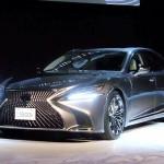 【自動車】新型レクサスLSを日本初公開 安全装備を充実…トヨタ
